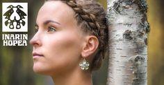 Lapland Diapensia Earrings, L Silver Jewellery, Jewelery, Category 4, Finland, Ear, Flowers, Norway, Ear Piercings, Jewlery