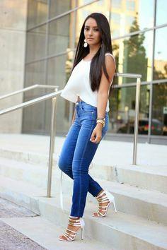 Mayte Doll - High Waist Jeans