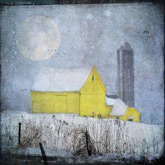 Old Yellow Barn