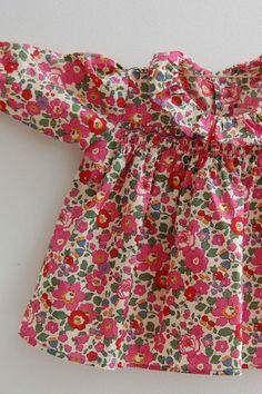 Pretty little baby blouse