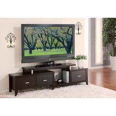 1000 ideas about tv consoles on pinterest tv stands for Furniture of america danbury modern