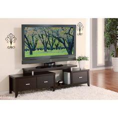 Furniture Of America Danbury Modern  Drawer Tv Console