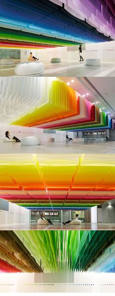 100 Colors Exhibition - Japan... Somehow i find this fascinating!