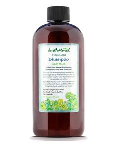 Description Sulfate-free Natural BrighteningShampoo for Gray and Silver Hair. Gray hair can turn yellow as residue that is left on your hair from other products