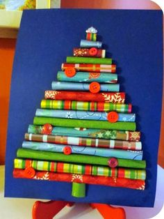 Karácsonyvárás: karácsonyi papír díszek
