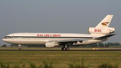 DAS Air Cargo, Uganda, flew this DC-10 Freighter