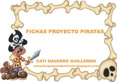 fichas-piratas by Catigui via Slideshare Primary School Jobs, Nudo Simple, The Pirates, Pirate Activities, Fiesta Party, Bowser, Crafts For Kids, Ideas Para, Videos