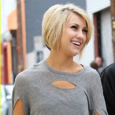 Chelsea kane's hair style is what I would like to go for...and hope that it looks as cute on me as it is on her.