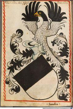 Scheibler'sches Wappenbuch Süddeutschland, um 1450 - 17. Jh. Cod.icon. 312 c  Folio 204