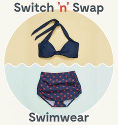 Mod cloth swimwear email gif