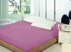 Plachta na postel v levandulové barvě s napínací gumičkou Floor Chair, Toddler Bed, Flooring, Table, Furniture, Home Decor, Child Bed, Decoration Home, Room Decor