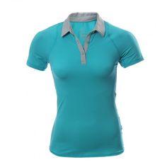 Luce súper femenina y entrena al máximo usando la Camiseta tipo Polo Nike  Sphere. La aa48117f50436