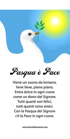 Pasqua è pace_filastrocca