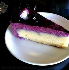 Blueberry Mousse Cake #blueberries #mousse #recipe