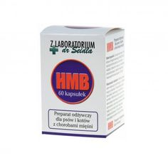 Dermapharm HMB 60 kapsułek. HMB z Laboratorium dr Seidla to odżywczy preparat dla psów i kotów cierpiących na choroby mięśni z upośledzeniem zdolności poruszania się.