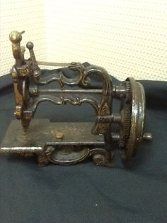 RARE 1800's RAYMOND WEIR  SEWING MACHINE