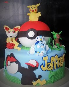 pokemon cake by ann michaud kaik