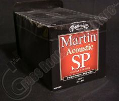 Bulk 12 Sets, Martin SP, Acoustic Guitar Strings, Light Gauge, Phosphor Bronze, MSP4100 by Martin. $81.29. Our Martin SP Studio/Performance Series strings are ideal live, in the studio, or wherever maximum string life is desired. The creation of these new high performance strings is a result of research done in cooperation with specialty steel producers. Due to the development of an industry leading ultra-high quality steel core, Martin SP strings resist breakage be...
