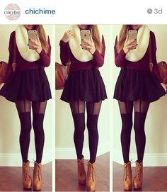 Anna Banana 🌸 on Instagram \u201cSkirt, sweater, and bag from @dailylook @dailylook
