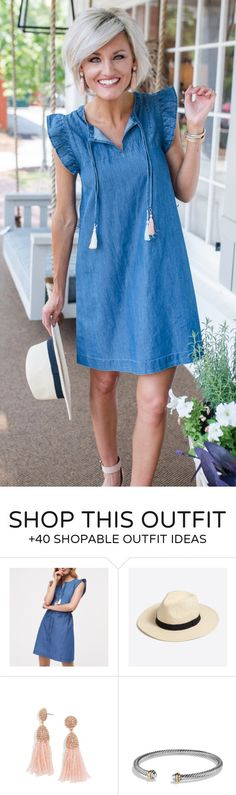 #summer #outfits Happy Monday! A New Blog Post Is Live On Loverlygrey.com Sharing This Chambray Dress That's On Sale For $29 Right Now! How Cute Are The Colorful Tassels & Flutter Sleeves?! The Whole Website Is 40% Off + Free Shipping! \\ I'm Also Sharing My Skincare Routine In Today's Post So If You Are Interested In The Products I'm Using, Make Sure To Check It Out! {link In Bio}