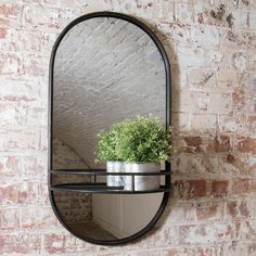 Whether you're moving from your bathroom to your bedroom, to your dressing room and back to your bathroom, having a one-size-fits-all mirror is vital. This gorgeous Granville oval shaped shelf mirror is ideal and comes in an on-trend brass finish. Industrial and stylish in one perfect package. Hall Mirrors, Hallway Mirror, Small Wall Mirrors, Mirror With Shelf, Metal Mirror, Mirrors For Sale, Floor Mirror, Round Wall Mirror, A Shelf