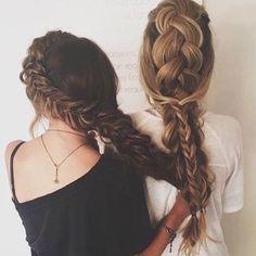 dutch, french, & fishtail braids
