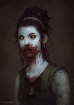 10 Best Zombie Tramp Images Cute Zombie Drawings Vampires