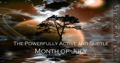 """The astrology of July has on offer a slow-moving Mercury in recovery from its recent retrograde, and as well an interesting Saturn-Uranus aspect that lasts throughout the month..."""