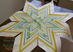 quilt was inspired by block 4424 (All American Star) from 5500 Quilt Block Designs.