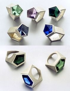 Babette von Dohnanyi, jewelry artist.