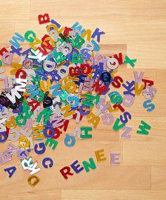 Look at this #zulilyfind! Gemstone Alphabet Set #zulilyfinds