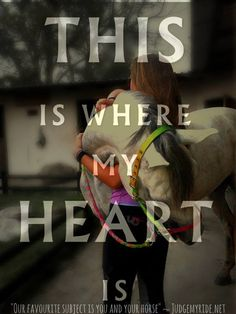 This is where my heart is..