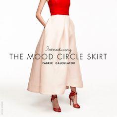 DIY Not?: How to Make a Circle Skirt - Mood Sewciety