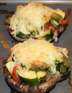 Portabella Mushroom Avocado « What to Cook?