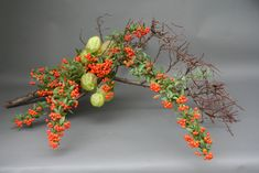 Ikebana with fall favorites | by sogetsudc