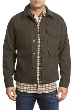 8b9d594163e5e Filson 'Short Cruiser' Jacket Stylish Jackets, Men's Coats And Jackets,  Canvas Jacket