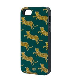 October // Rifle Paper Co. Leopard iPhone 5 Case $36