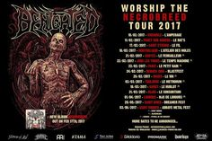 HARD N' HEAVY NEWS: BENIGHTED - ANNOUNCE NEW LIVE DATES
