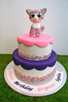 Image result for beanie boo cake