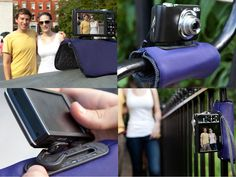 """""""Pose"""" camera case and tripod in one - only presale available, not manufactured yet! #Iwantthis!"""
