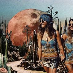 Touch down on the desert moonBy @collagesbyross✨