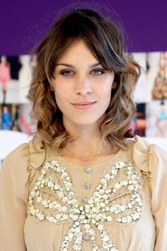 Alexa Chung attends the CFDA Awards in New York wearing Marc Jacobs, June 7th, 2010