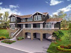 Plan de la casa del artesano 87567 Elevación