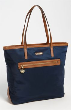MICHAEL Michael Kors Handbag, Kempton Nylon Large Tote $138.00 #womens #fashion #bag