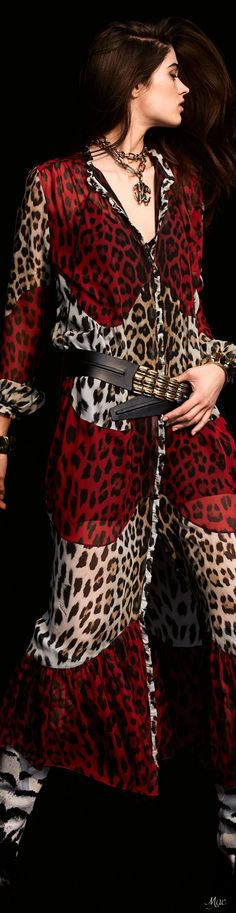 Fall 2020 RTW Roberto Cavalli Animal Print Outfits, Animal Print Fashion, Animal Prints, Fashion Lookbook, Fashion Trends, Italian Fashion Designers, Cool Style, My Style, Roberto Cavalli