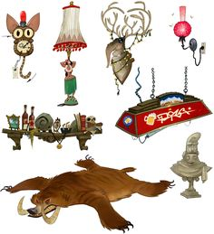 View an image titled 'Granok Decor Art' in our WildStar art gallery featuring official character designs, concept art, and promo pictures. Prop Design, Game Design, Environment Concept Art, Environment Design, Character Art, Character Design, Diy Art Projects, Visual Development, Candyland