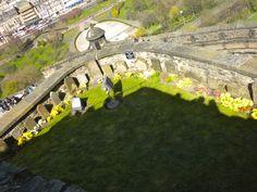 The dogs cemetery at Edinburgh Castle