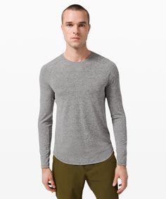 Drysense Long Sleeve | Long Sleeves | Lululemon UK Mens Gym Bag, Break A Sweat, Training Tops, Personal Shopping, Mesh Fabric, Fabric Material, Feel Good, Lululemon, Long Sleeve Shirts