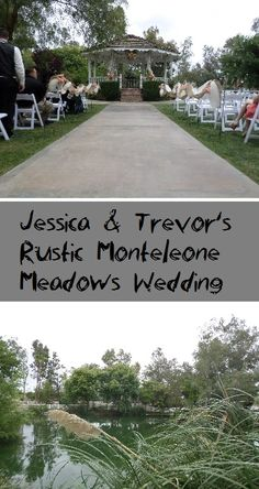 Highlights from Jessica & Trevor's rustic Monteleone Meadows wedding featuring country music & dancing by San Diego DJ Staci. Includes photos & video.