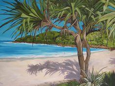 pandanus tree  Noosa Karen Robinson Karen Robinson, Mosaic Ideas, Birthday, Outdoor Decor, Painting, Art, Art Background, Birthdays, Painting Art